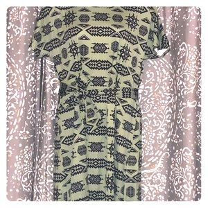 Sage green Lularoe Marly dress